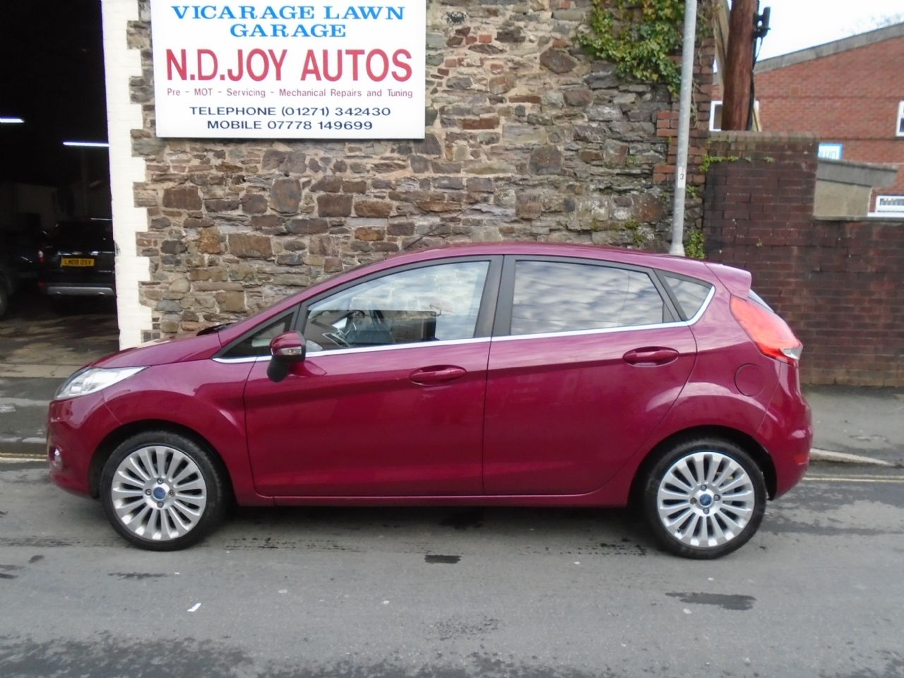 FORDFIESTATitanium 1.4 096 for sale