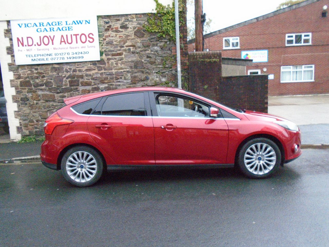 FORDFocusZetec 1.6 Ti-VCT 125 PS for sale